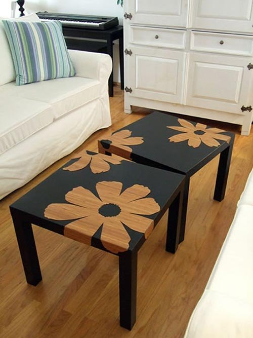 customiser une table basse ikea blog d co clem around the corner. Black Bedroom Furniture Sets. Home Design Ideas