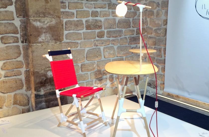diy leroy merlin chaise imprimante 3D
