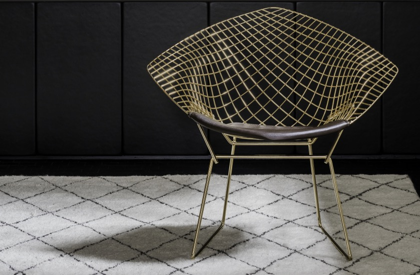 La Chaise Diamond De Harry Bertoia