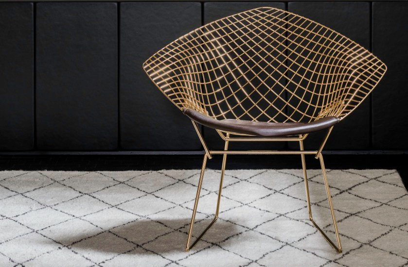 la chaise diamond de harry bertoia blog d co clem around the corner. Black Bedroom Furniture Sets. Home Design Ideas