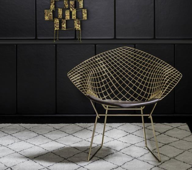 La chaise diamond de harry bertoia blog d co clem around for Chaise qui ne prend pas de place