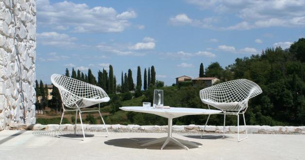 terrasse chaise diamond knoll extérieur