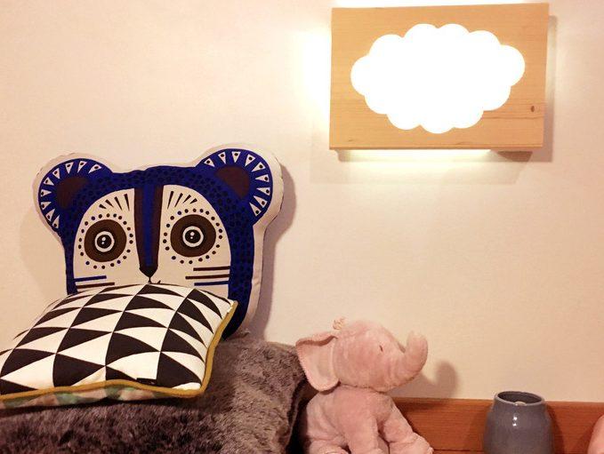 lampe murale enfant nuage bois diy 18h39 Clemaroundthecorner.com