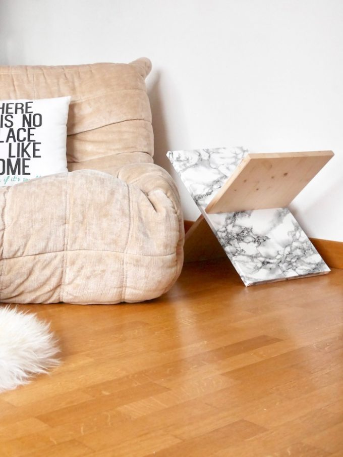 clemaroundthecorner.com diy porte revues magazine minimaliste