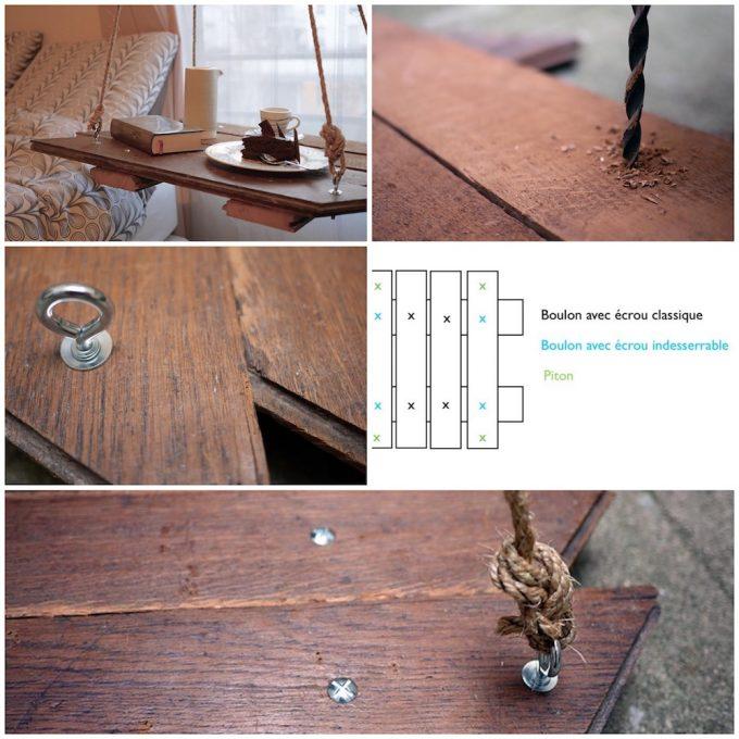 tutoriel fabriquer une table de chevet