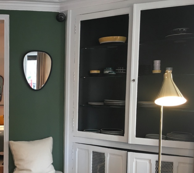 peinture intérieur vert