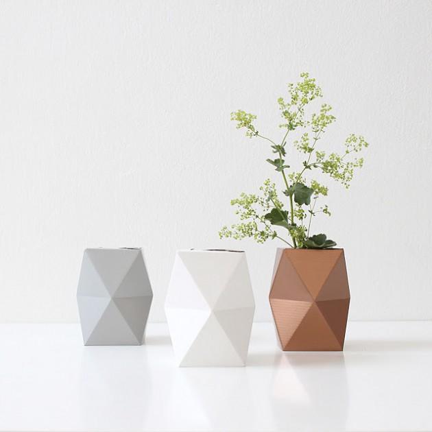 tutoriel vase pliage origami