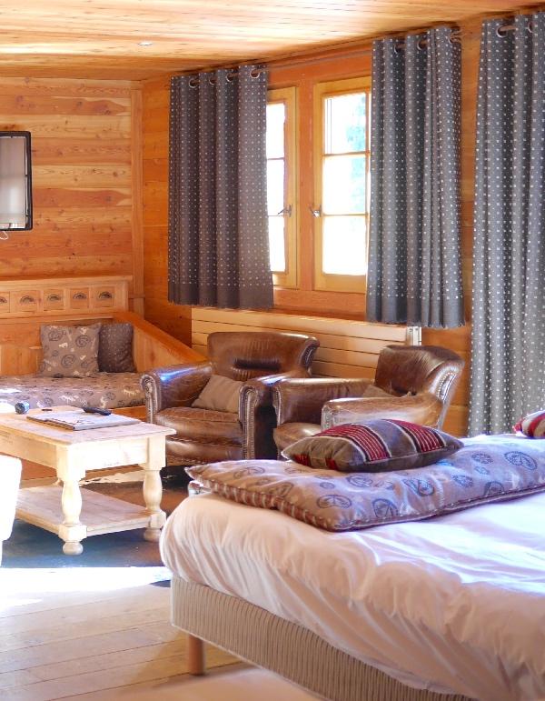 salon suite chalet mounier les 2 alpes