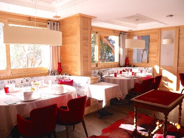 restaurant etoile michelin les 2 alpes clematc