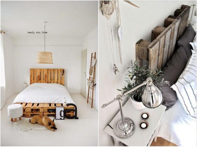 idée déco palette diy tete de lit