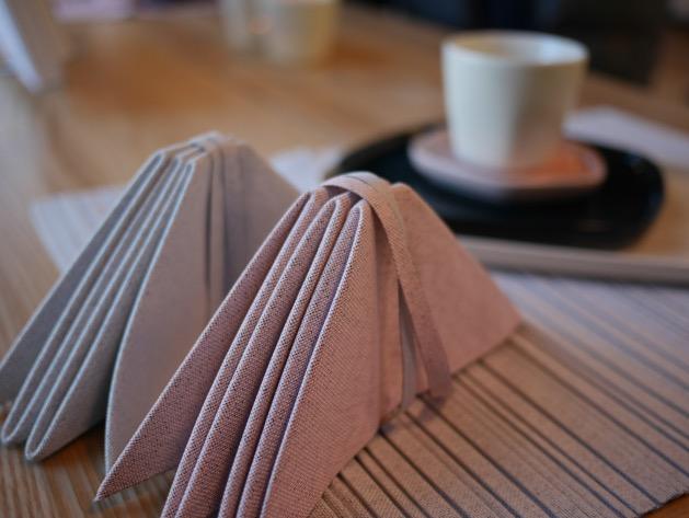 iittala serviette pliable origami