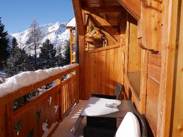 balcon chambre chalet mounier