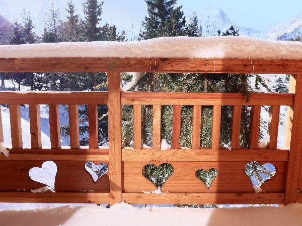 balcon vue muzelle chalet mounier