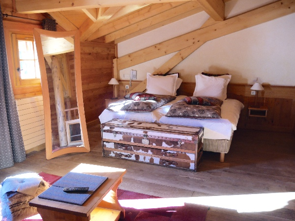 chambre lit simple le chalet mounier