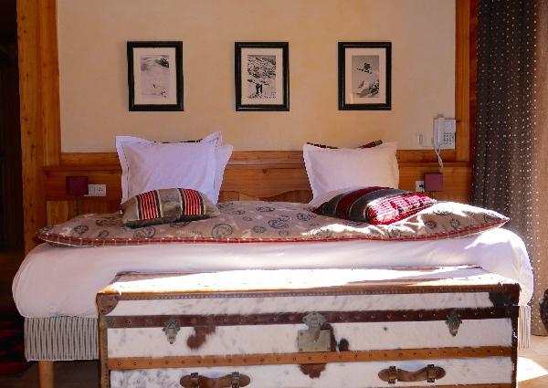 chambre suite chalet mounier clematc