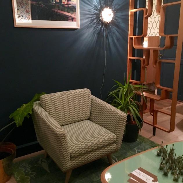 David Hodkinson fauteuil red edition