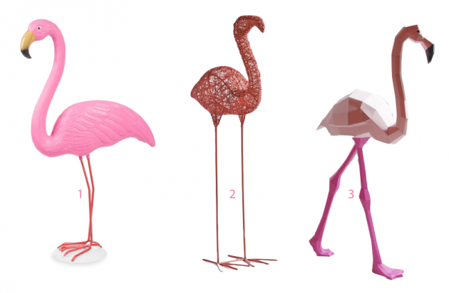 D co flamant rose blog d co clem around the corner for Decoration interieur bibelot