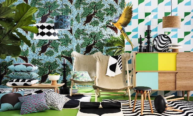 ikea collection tillfalle tendance jungle deco