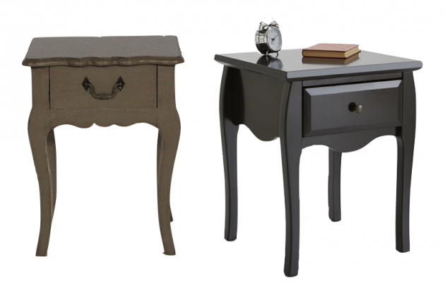 La m me table de nuit en moins ch re clem around the corner - La redoute table chevet ...