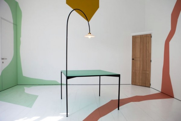 table minimaliste art déco muller van severen
