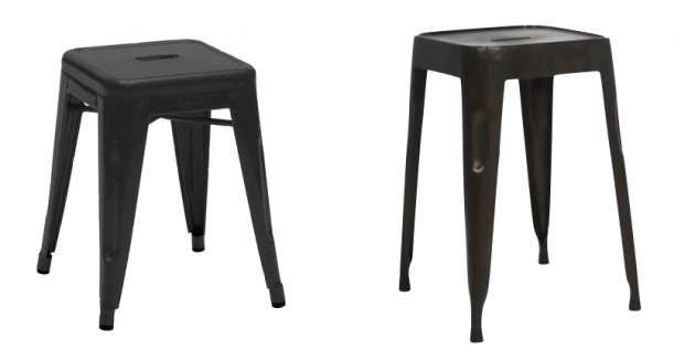 tabouret style tolix pas cher. Black Bedroom Furniture Sets. Home Design Ideas