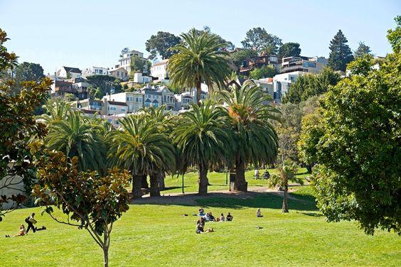 park célèbre pour se poser jouer au tennis San Francisco