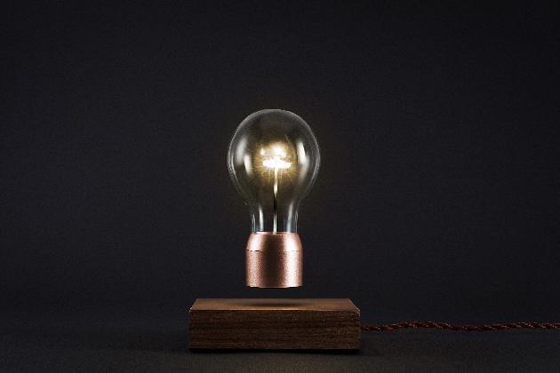 Flyte lampe en lévitation