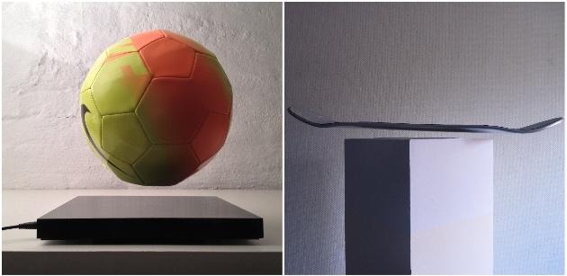 objet Nike lampe en lévitation