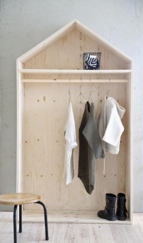 fabriquer un dressing en bois