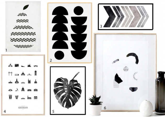 affiche scandinave adresses et astuces d co clem around the corner. Black Bedroom Furniture Sets. Home Design Ideas