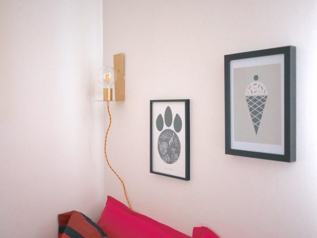 lampe baladeuse laiton affiche