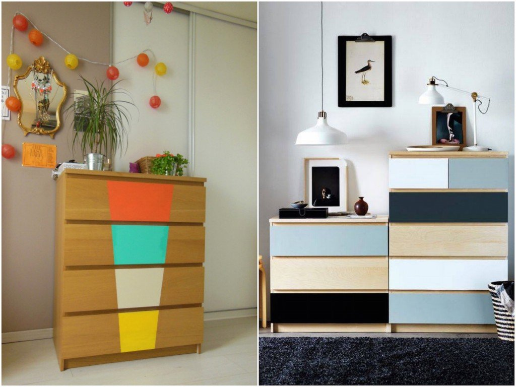 transformer un meuble ikea la commode malm clem around. Black Bedroom Furniture Sets. Home Design Ideas