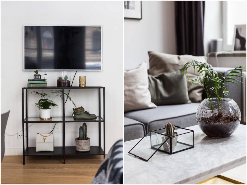 deco scandinave terrarium bois plante