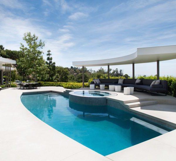 Une maison ronde par Dennis Gibbens Architects Berverly Hills