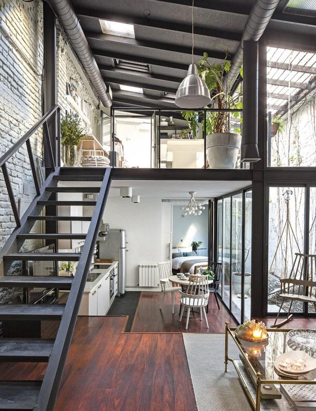 atelier loft deco intérieure