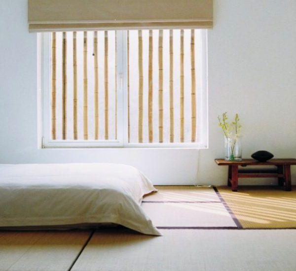 chambre japonaise idée zen