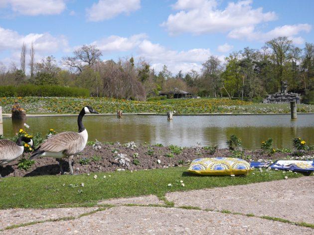 Parc floral de Paris lac