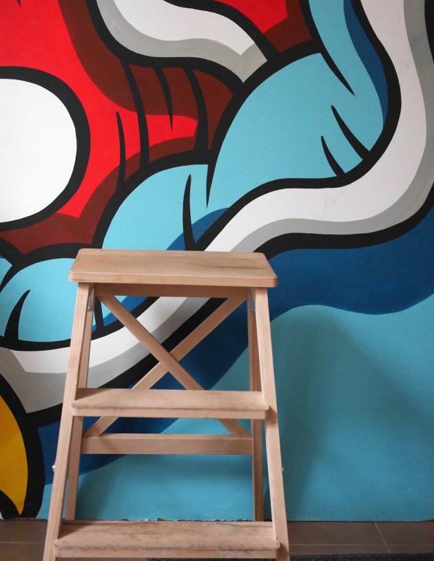fresque Aaron Kai street art
