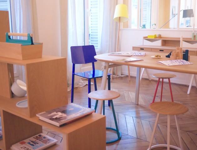 showroom hartô design meuble gustave tabouret