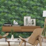 decoration salon style scandinave jungle