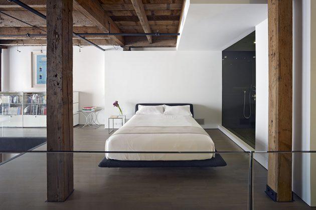 Atelier loft 10 appartements pour s 39 inspirer blog deco for Chambre style loft industriel
