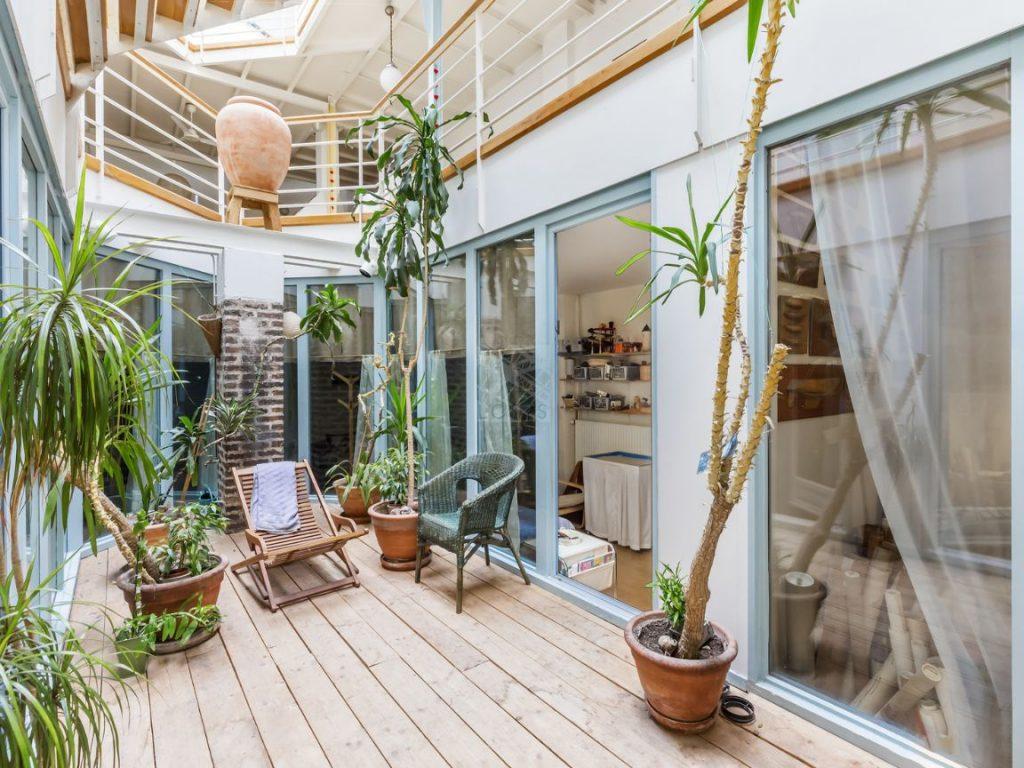 renovation atelier loft ambiance bateau de croisiere