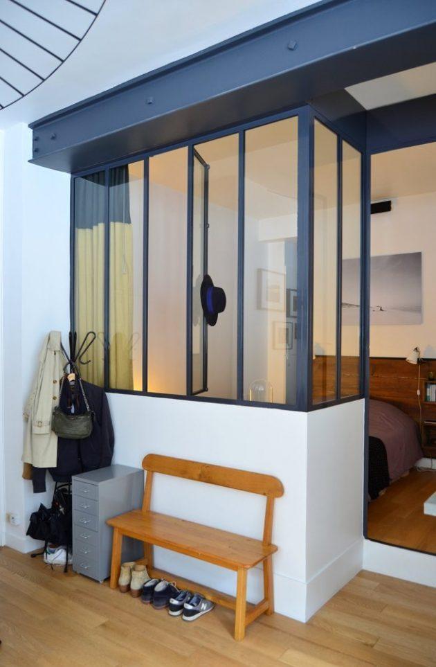 atelier loft parisien cuisine ouverte