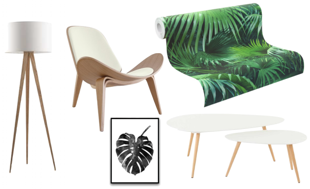 4MURS mur papier-peint tropical jungle