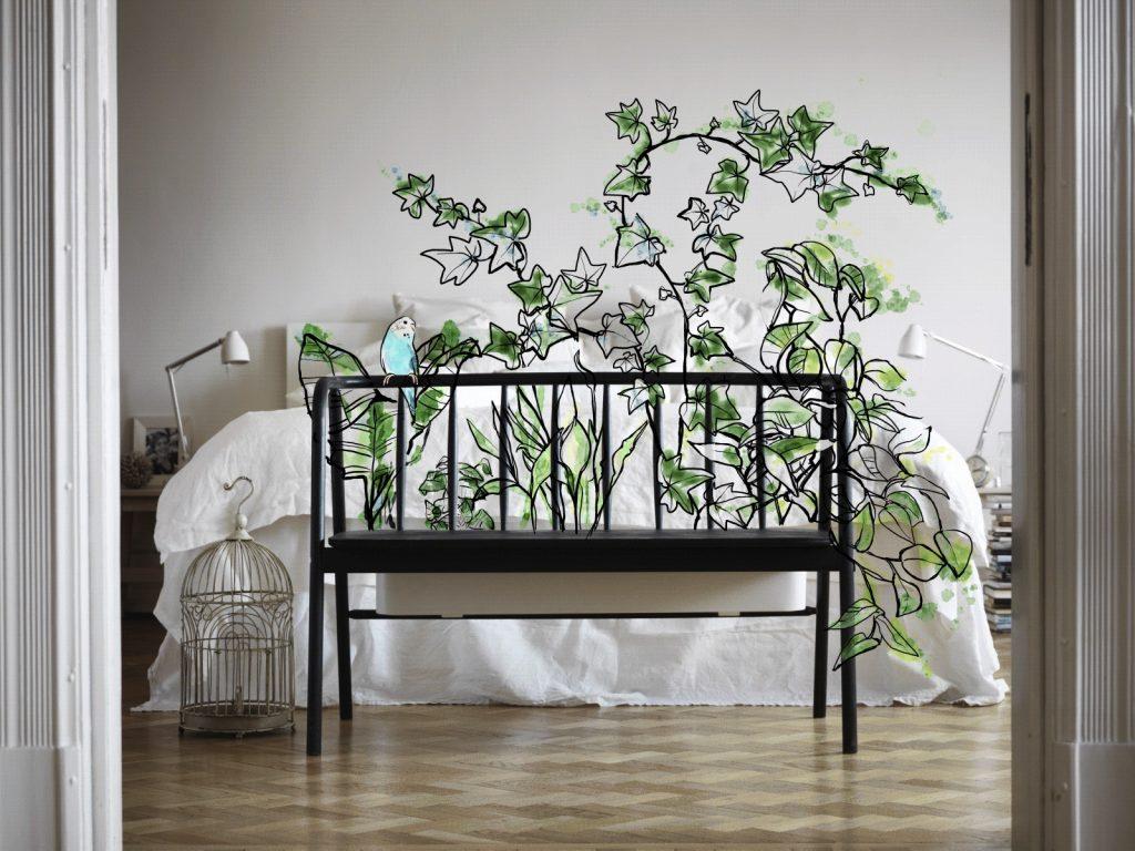 développement durable et ikea banc avec pot de fleurs intégré