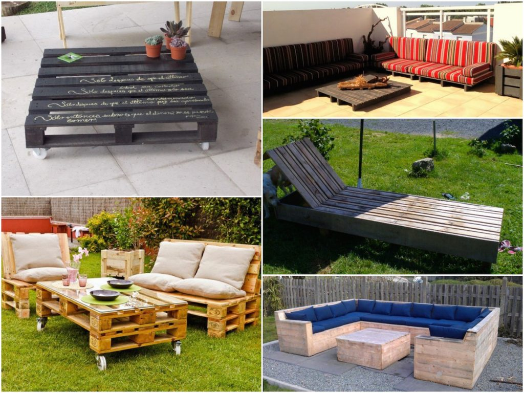 Faire une terrasse en palette blog d co clem around the corner - Fauteuil de jardin en palette ...