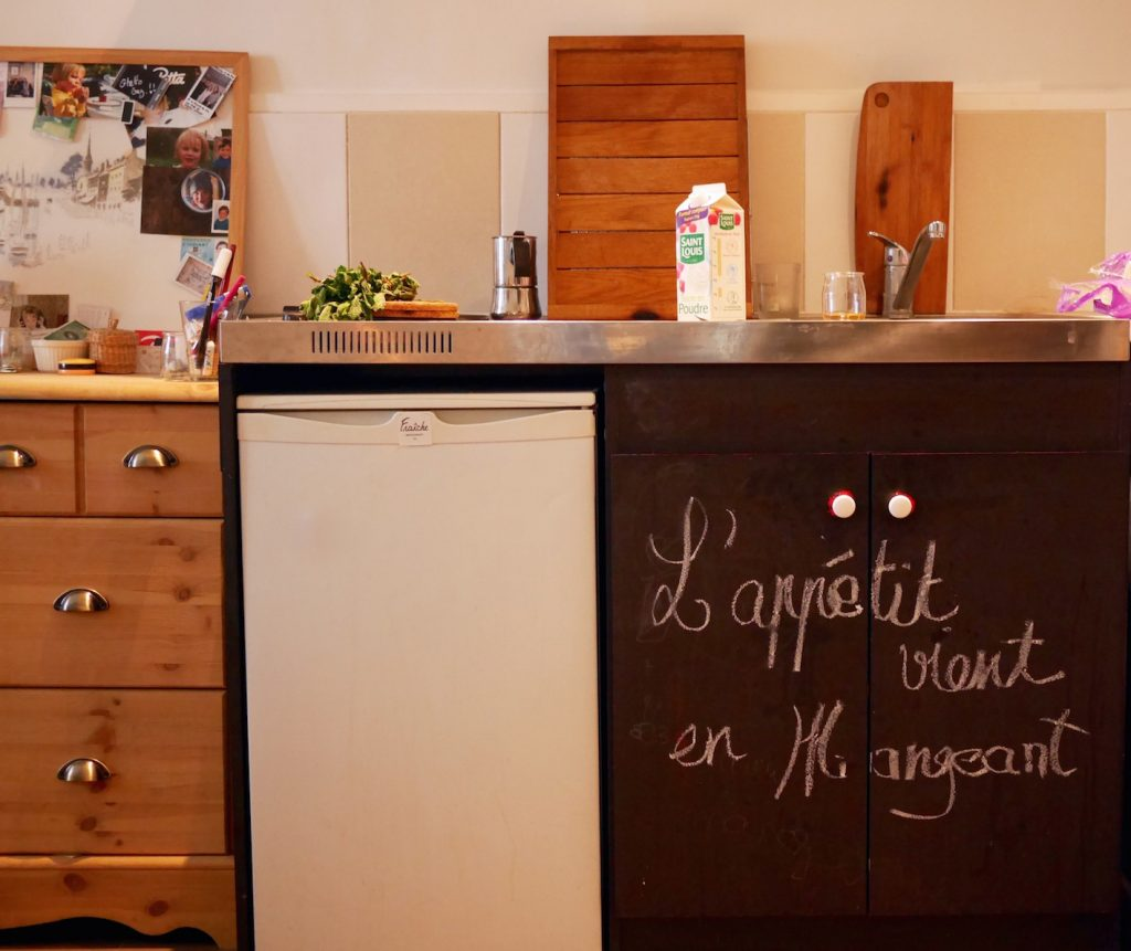 L'appartement de Tiffany Depardieu Top Chef