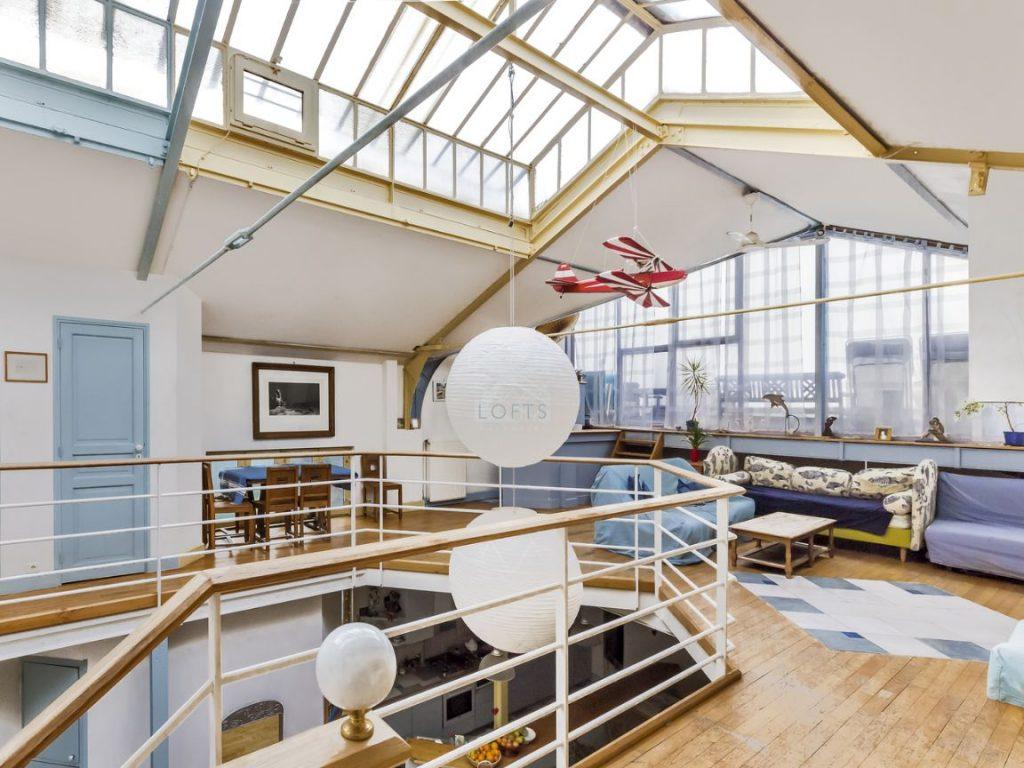 Atelier loft 10 appartements pour s 39 inspirer blog deco for Appartement deco bateau