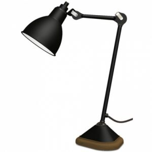 n 206 lampe table gras noir 0