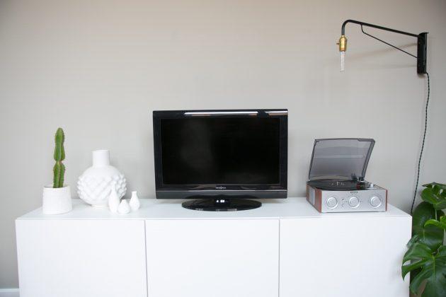 Appartement et salon gris et blanc visite décoration